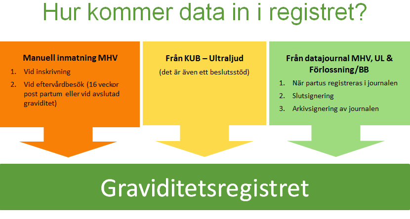 Hur data kommer in i registret